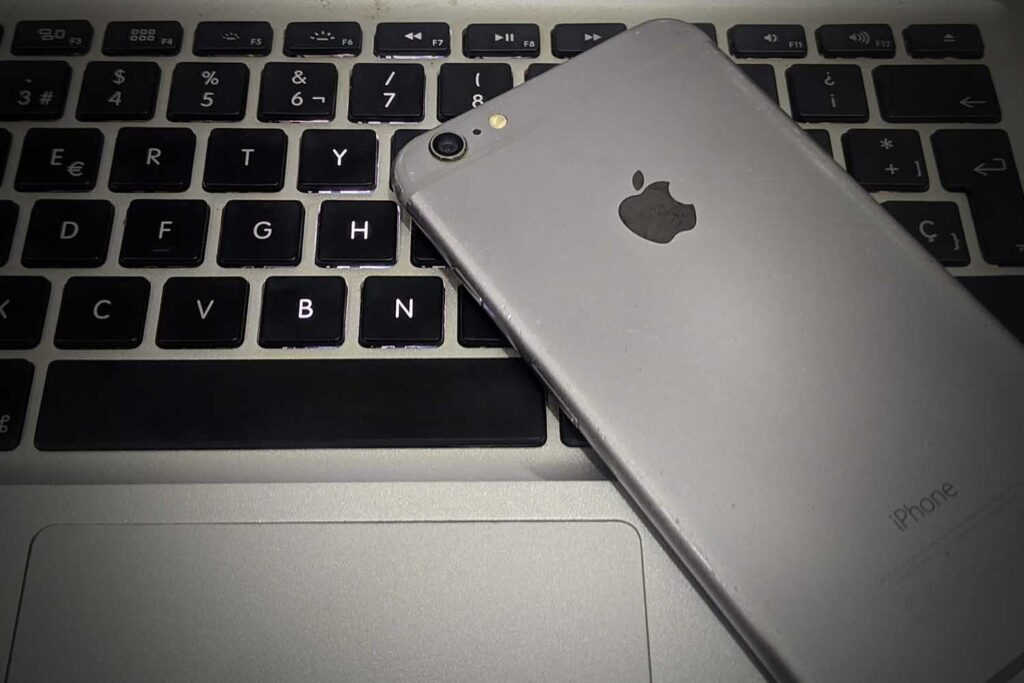 the back of my iphone